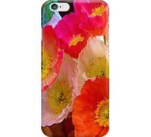 Poppy Me Colourful iPhone Case/Skin