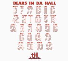 BEARS IN DA HALL Kids Clothes