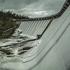 wellington dam overflowing 2 by warren dacey