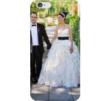 Sarah & Aaren Wedding Portrait iPhone Case/Skin