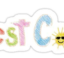 Best Coast Logo Sticker