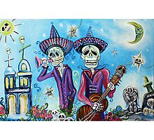 Secrets Of The Mariachi (All Saint's Day) Photographic Print