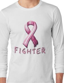 Breast Cancer Fighter Long Sleeve T-Shirt