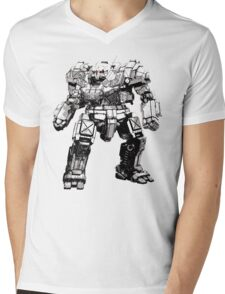 atlas Mens V-Neck T-Shirt