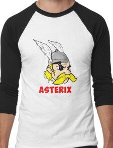 Asterix face Men's Baseball ¾ T-Shirt
