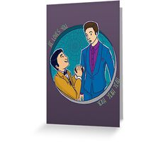 Klaine Proposal Greeting Card