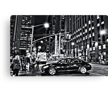 New York B&W Canvas Print