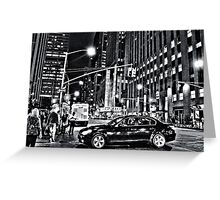 New York B&W Greeting Card
