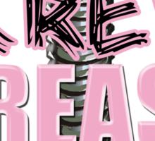 Screw Breast Cancer Sticker