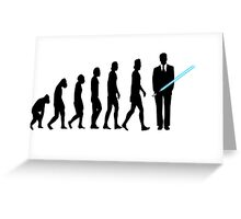 Evolution to Star Wars Greeting Card
