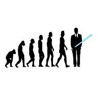 Evolution to Star Wars Photographic Print