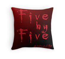 Five by Five Buffy The Vampire Slayer Throw Pillow
