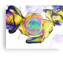 Multi colored flower Metal Print
