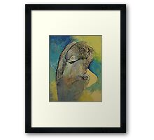 Grey Parrot Framed Print