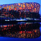 Bird's Nest Stadium, Beijing by Mark Bolton