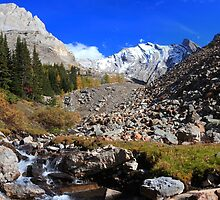 Arethusa creek and peaks II by zumi