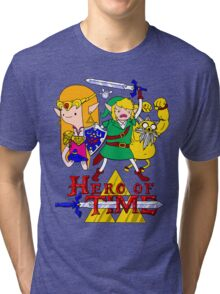 Hero of Time! Tri-blend T-Shirt