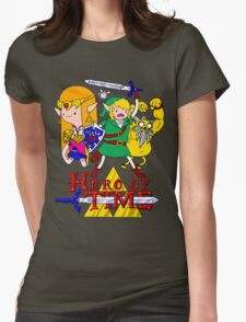 Hero of Time! Womens Fitted T-Shirt