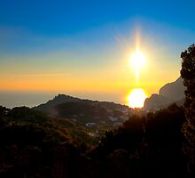 Time In The Sun - Isle of Capri Landscape by Mark Tisdale