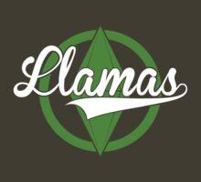 Llamas by Dillon Finley