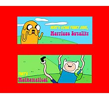 Marriage Equality, Adventure Time style! Photographic Print