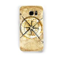 """Compass"" Samsung Galaxy Case/Skin"