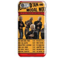 The Cantina Band Tour Poster iPhone Case/Skin