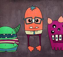 Dorky Monsters by Whitney Lynn