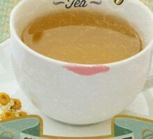 Breaking Bad Inspired - Rodarte-Quayle Chamomile Tea - Lydia's Tea - Ricin Spiked Stevia - Breaking Bad Finale Parody Sticker