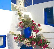 The Beauty of Oia by Barbara  Brown