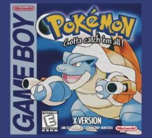 Pokemon X Game Boy Art by brentwards