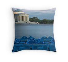 Jefferson Memorial Throw Pillow