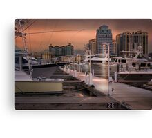 Town Docks Canvas Print