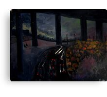 boys by the freeway Canvas Print