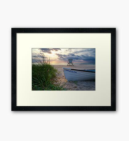 Palm Beach Sunrise Framed Print