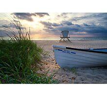 Palm Beach Sunrise Photographic Print
