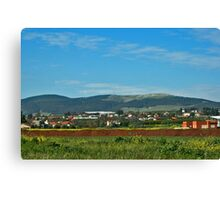 View at the Galilee Canvas Print