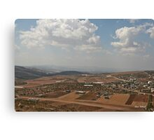 In the Way… Upper the Gilboa Canvas Print
