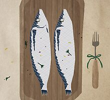 fish illustration by aiaiou