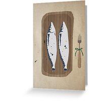 fish illustration Greeting Card