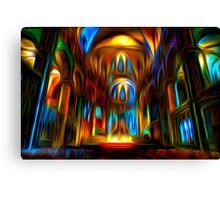 Heavenly Lights Canvas Print