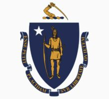 Massachusetts Flag by cadellin
