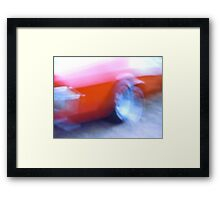 Holden HQ Monaro Gingin Jive Framed Print