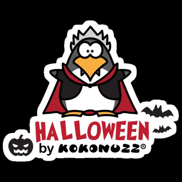 Halloween DraKOOla - The Penguin Vampire by Kokonuzz
