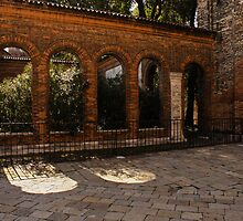 Of Courtyards and Elegant Arches  by Georgia Mizuleva