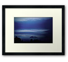 Mount Doom  Framed Print