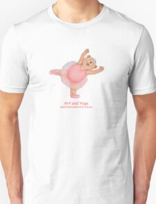 Art and Yoga with Ballet Bear Unisex T-Shirt