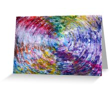 What does the Universe look like in Color? Greeting Card