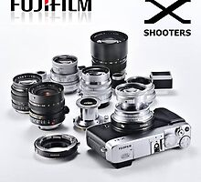 FUJI X SHOOTERS by 242Digital