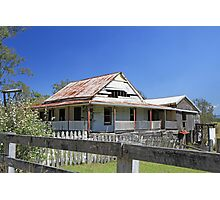 old house, old Grafton-Glen Innes Road Photographic Print